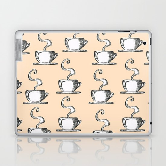 Cups Of Coffee Laptop & iPad Skin