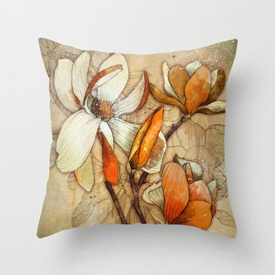 Sun Flair Throw Pillow