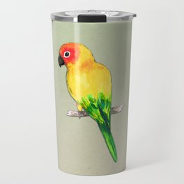 Sun conure Travel Mug