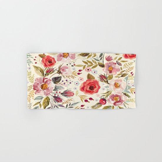 Floral Theme Hand & Bath Towel
