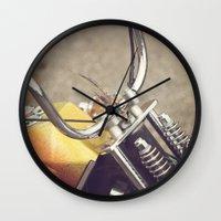 moto Wall Clocks featuring Moto by CMcDonald