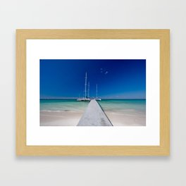 Cayo Blanco Framed Art Print