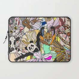 Party Animals Dancing Laptop Sleeve