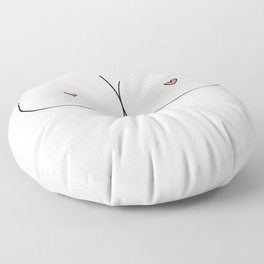 Boobs - Pale Floor Pillow