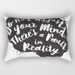 Do not adjust your mi Rectangular Pillow