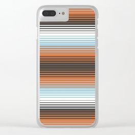Deconstructed Serape in Multi Clear iPhone Case