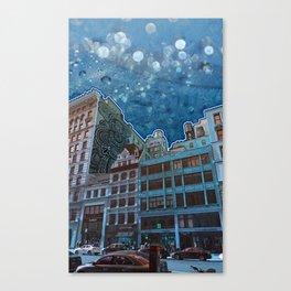 5th Avenue Frost Canvas Print