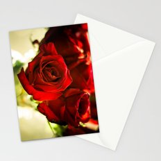 I Punched The Flowers You Gave Me, And Now I'm Sending Them Back Stationery Cards