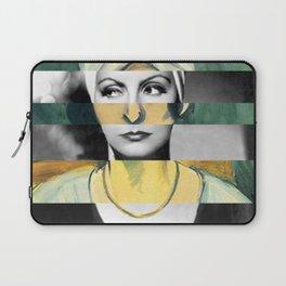 Matisse's Woman with a Turban & Greta Garbo Laptop Sleeve