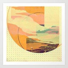 (sky)land Art Print
