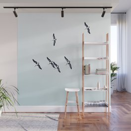 High in the sky Wall Mural