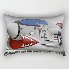 1957 F-8K Crusader Rectangular Pillow