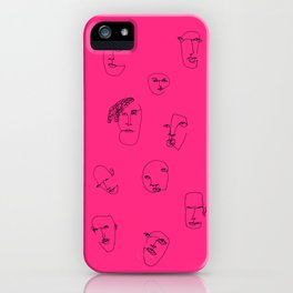 feeling pink iPhone Case