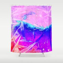 Aurora 3 - Ultraviolet Shower Curtain