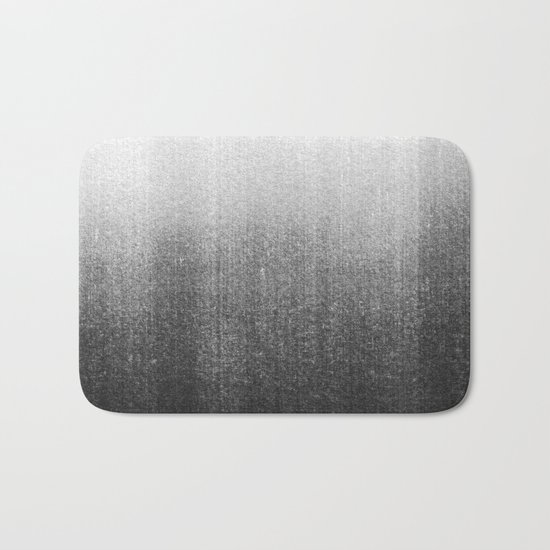 BLUR / abyss / black Bath Mat