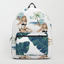 Aloha girl Backpack