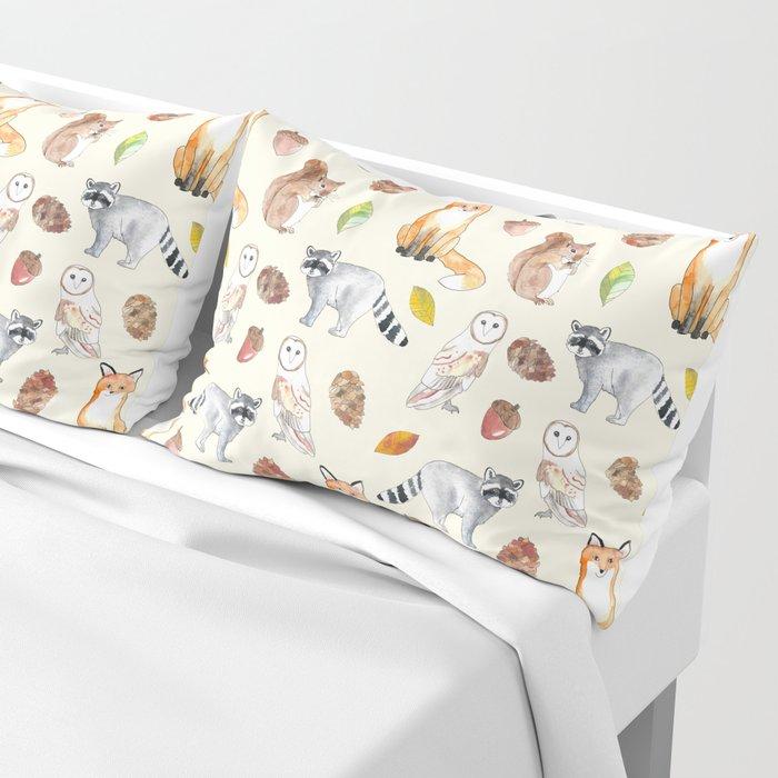 Woodland Critters Pillow Sham