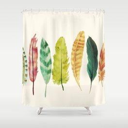 Feathers Shower Curtain