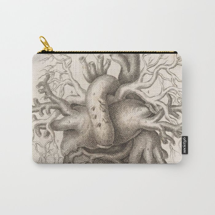 The Back Of The Heart Carry-All Pouch