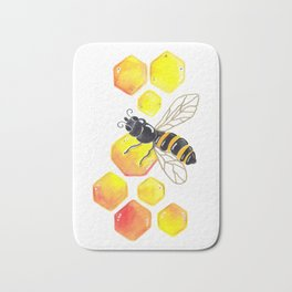 Honey Bee Bath Mat