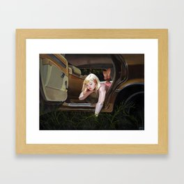It Follows Framed Art Print