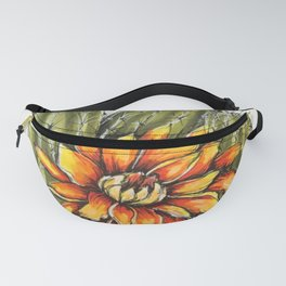 Cactus with Flower Fanny Pack