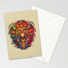 LION & SKULL Stationery Cards