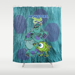 Monsters Ink Shower Curtain