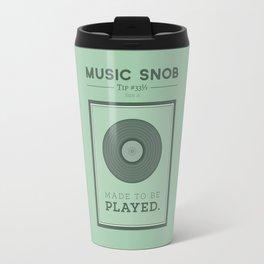 Made to be Played — Music Snob Tip #33⅓ A Travel Mug