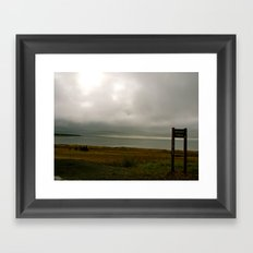 Cook Inlet  Framed Art Print