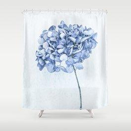 Hydrangea Blue 2 Shower Curtain