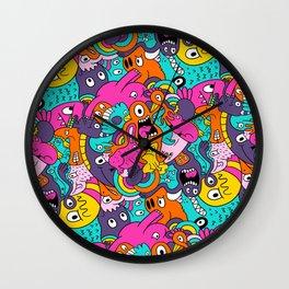 Jumble Bunny Wall Clock