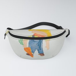 Toddlers May Spring Planting Fanny Pack