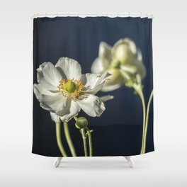 Graceful Anemones, No. 1 Shower Curtain