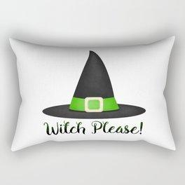 Witch Please! Rectangular Pillow