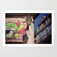 graffiti Art Prints featuring graffiti by Sébastien BOUVIER