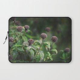 The Grey Allium Garden Laptop Sleeve