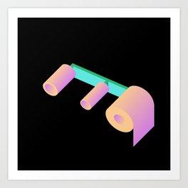 T P Art Print