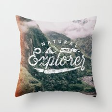 Explorer Throw Pillow