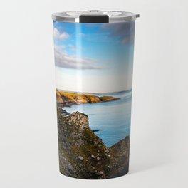 Scenic view of cliffs in Ireland Travel Mug