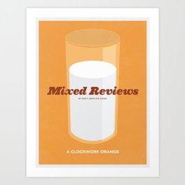 Mixed Review - A Clockwork Orange Art Print
