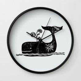 Sunny Sailing Wall Clock