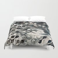 into the wild Duvet Covers featuring wild by Vin Zzep