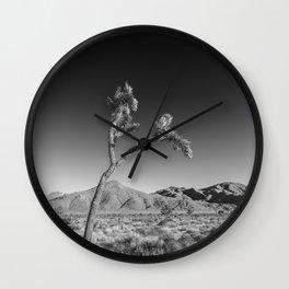 Joshua Tree National Park | Monochrom Wall Clock