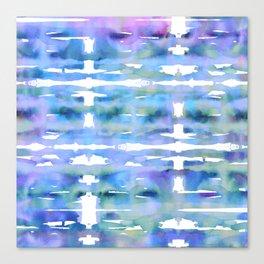 Tie Die Serenity Canvas Print