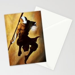 Aang avatar state Stationery Cards
