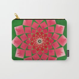 Spiral Rose Carry-All Pouch