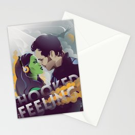Hooked on a feeling Stationery Cards