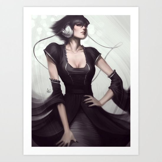 Pepper Vogue Art Print