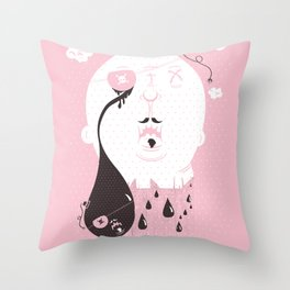 ... Population: Awesome Power Throw Pillow